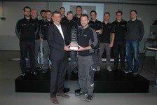 DTM - Hankook überreicht Best Pit Stop Award