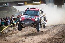 Dakar Rallye - Mini verteidigt Gesamtführung auf Marathon-Etappe