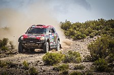 Dakar Rallye - MINI legt eindrucksvolle Halbzeit-Bilanz vor