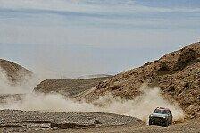 Dakar Rallye - MINI feiert Dreifachsieg auf der 9. Etappe
