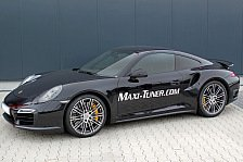 Auto - Neues MaxPower-Upgrade : Porsche 911 Turbo: Maxi-Tuner findet 60 Extra-PS