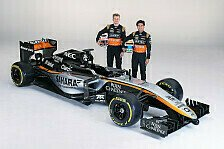Formel 1 - Silberpfeil f�r den H�lk!: Live-Ticker: Force India-Pr�sentation