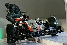 Formel 1 - Force India auch beim zweiten Test ohne neues Auto