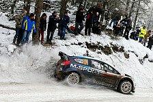 WRC - Evans gesteht: Kein großer Fan von Kälte