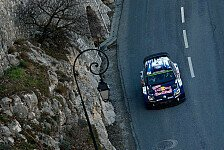 WRC - Video: Tag 3 in Monte Carlo: VW baut Dreifachf�hrung aus
