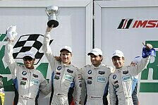 USCC - BMW Team RLL fährt auf die Plätze zwei und vier