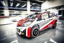 WRC - Juho Hänninen Topfavorit auf Toyota-Cockpit