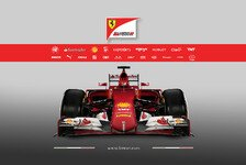 Formel 1 - Video: Ferrari-Launch - Sticker-Zeitraffer