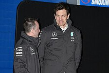 Formel 1 - Video: Road to 2015: Fabriktour mit Toto Wolff