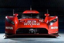 WEC - Nissan präsentiert GT-R LM Nismo