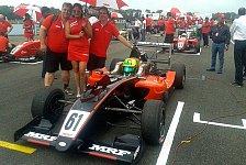 Motorsport - Balthasar: Überzeugender Auftritt in Indien