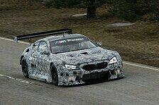 Mehr Sportwagen - BMW M6 GT3 absolviert ersten Roll-Out
