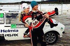 WRC - Solberg gewinnt historische Rallye Schweden