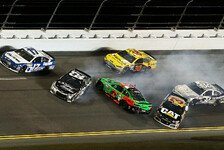 NASCAR - Video: Daytona 500-Quali: Hamlin dreht Patrick