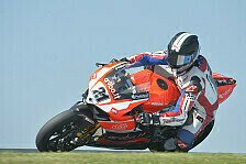 Superbike - Rang 18 am Freitag das Maximum: Bayliss: Sensations-Comeback von Technik gebremst