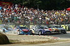 Mehr Rallyes - Video: Rallycross: Crashes & Highspeed-Duelle in Belgien - Highlights Tag 1