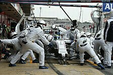 Formel 1 - Rein, raus, rein, raus: Williams: Boxenstopp-Orgie in Barcelona