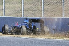 Formel 1 - Video: Simulation: Alonso-Unfall in Barcelona