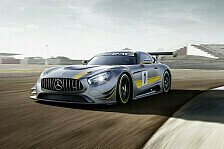 Mehr Sportwagen - Video: Teaser - Mercedes-AMG GT3