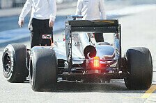 Formel 1 - Mehr Power, mehr Downforce: McLaren: Neues Heck in Barcelona