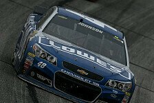NASCAR - Spannendes Rennen in Atlanta: Johnson bezwingt Harvick