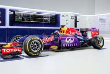Formel 1 - Lackierung Red Bull RB11