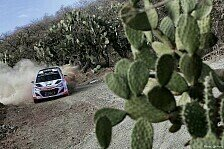 WRC - Video: Hyundai: Mexiko-Shakedown mit Schreckmoment