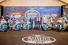 MotoGP - Marc VDS, Estrella: Launch-Spektakel in Madrid