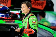 NASCAR - Video: F*uck! He hit me! Danica Patrick flucht im Auto