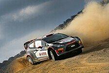 WRC - Kubica vor Marathon-Etappe auf Sardinien