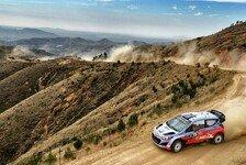 WRC - Argentinien: Sordo peilt Podium an
