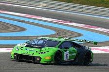 GT World Challenge - SRO-Testfahrten Paul Ricard HTTT