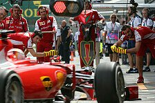 Formel 1 - Ferrari-Crew in Form: Malaysia GP: Die Boxenstopp-Analyse