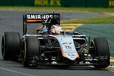 Formel 1 - Force India: Punkte als Moralschub