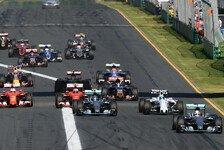 Formel 1 - Australien GP: Mega-Duell Mercedes vs. Ferrari