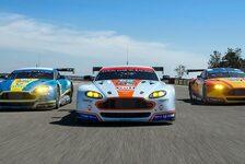 24 h Nürburgring - Aston Martin mit zwei Werkswagen
