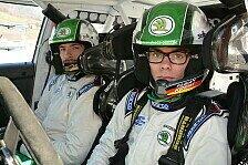 Rallye - Skoda-Pilot Kreim misst sich mit Rallye-Legende