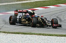 Formel 1 - Trockener Spa�: Lotus in Sepang: Top B-Note, Abz�ge in der A-Note