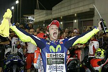 Rossi feiert 350. GP-Start - die Top-10 MotoGP-Starter