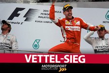 Formel 1 - Video: MSM TV: Vettel-Sieg in Malaysia