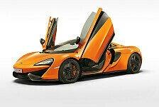 Auto - McLaren zeigt neues 570S Coupe