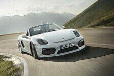 Auto - Weltpremiere des Porsche Boxster Spyder