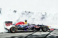 Formel 1 - Video: Red-Bull-Showrun in Glasgow mit David Coulthard