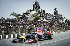 Formel 1 - Bilder: Red Bull Showrun in Hyderabad, Indien