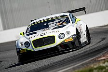 Blancpain GT Serien - Primat, Abril und Parisy starten f�r das Bentley Team HTP: Bentley in Monza: Drei Stunden Highspeed