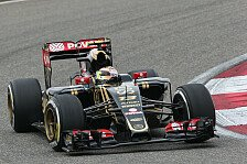 Formel 1 - Honda erstmals in den Top-10: Topspeed China: Lotus in mitten von Ferraris