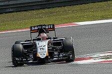 Formel 1 - Hülkenberg nach Fehler in Q1 raus