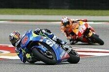 MotoGP - Premiere: Beide Suzukis in Q2