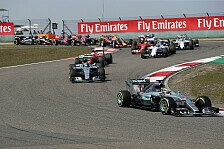 Formel 1 - Rosberg will das Start-Triple: Mercedes in China: N�chster Ferrari-Angriff kommt