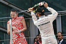 Formel 1 - Blog - Sexist Hamilton? Lasst das Girl mal im Grid